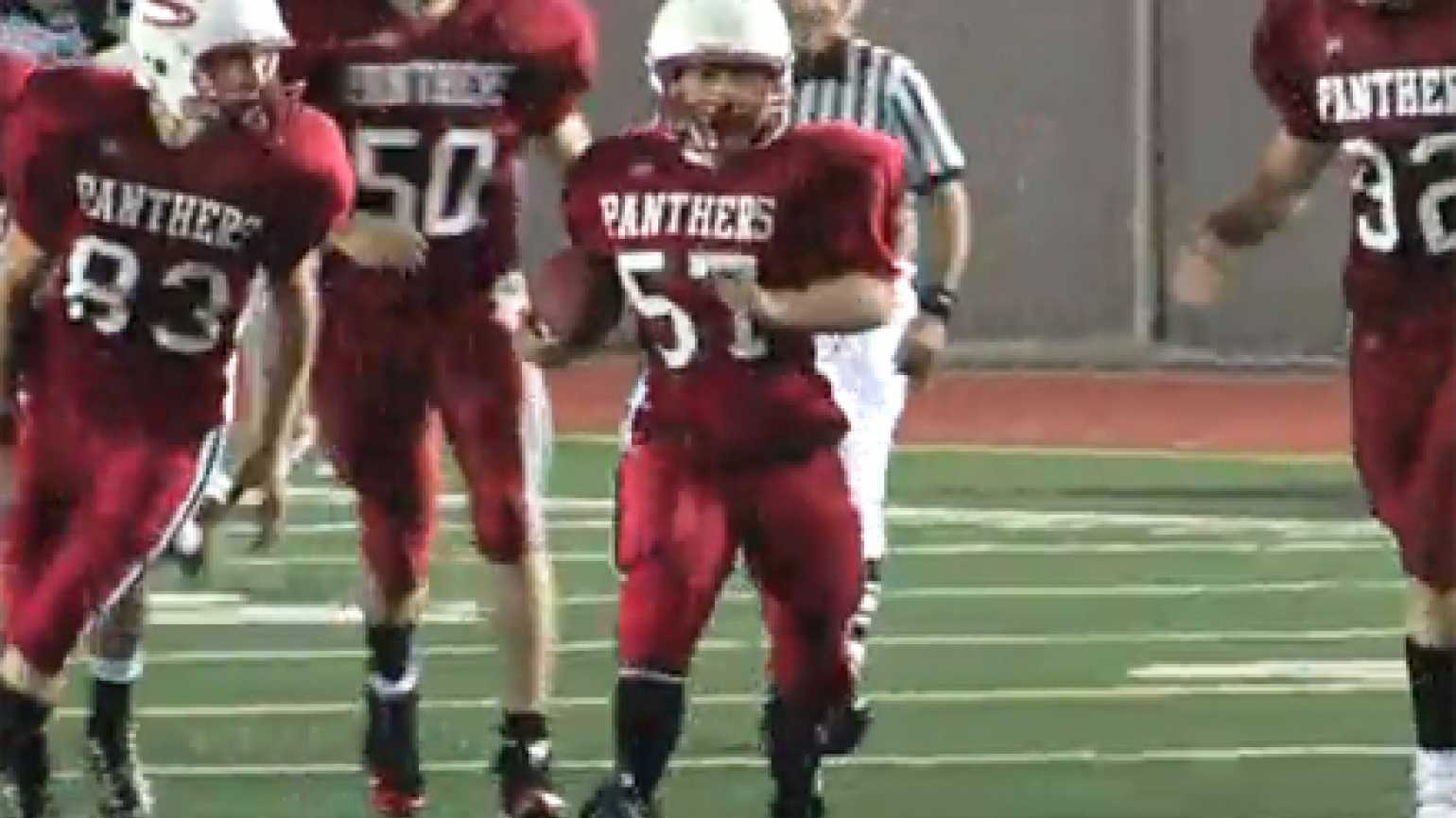 Down Syndrome Player Ike Ditzenberger Scores Touchdown In High