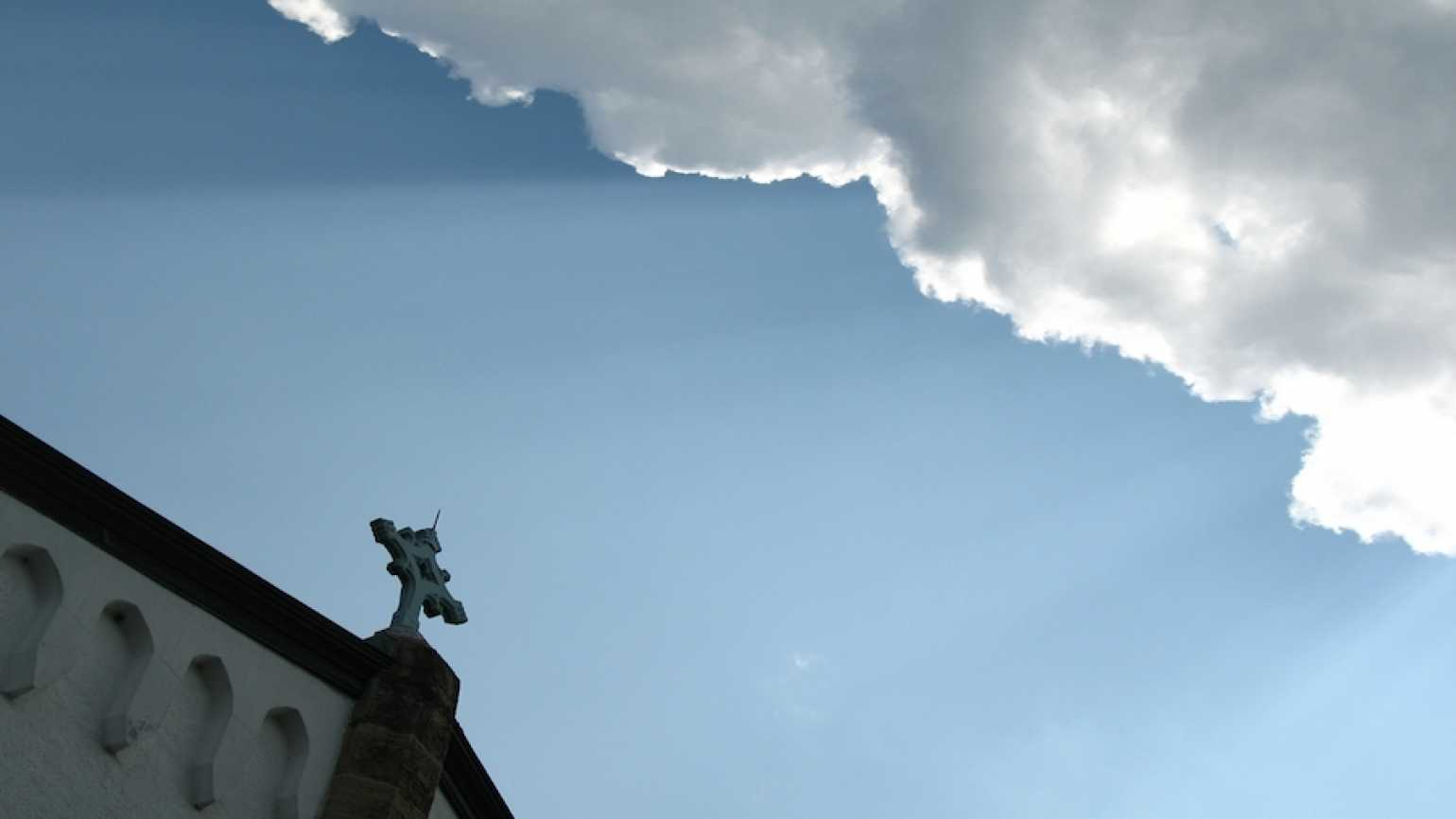 Cloudscape at Abbey of Gethsemani. Photo by Brother Christian.