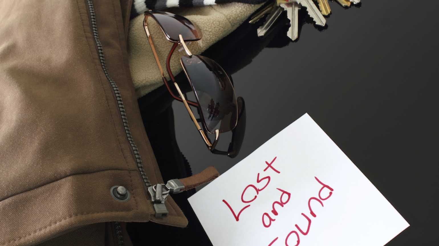 Lost and found photo by Mr. Incredible, Thinkstock.