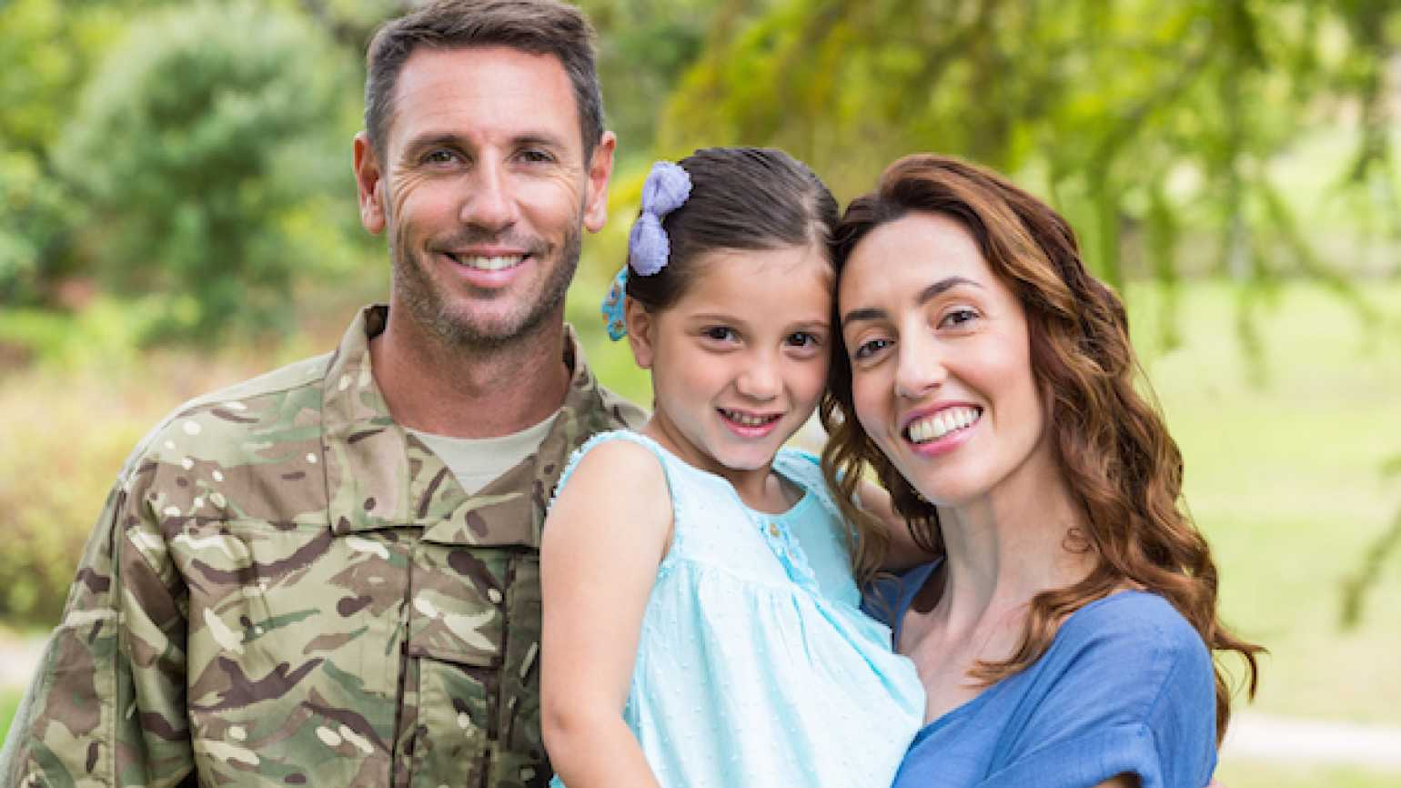 How a military family finds balance between life and work.