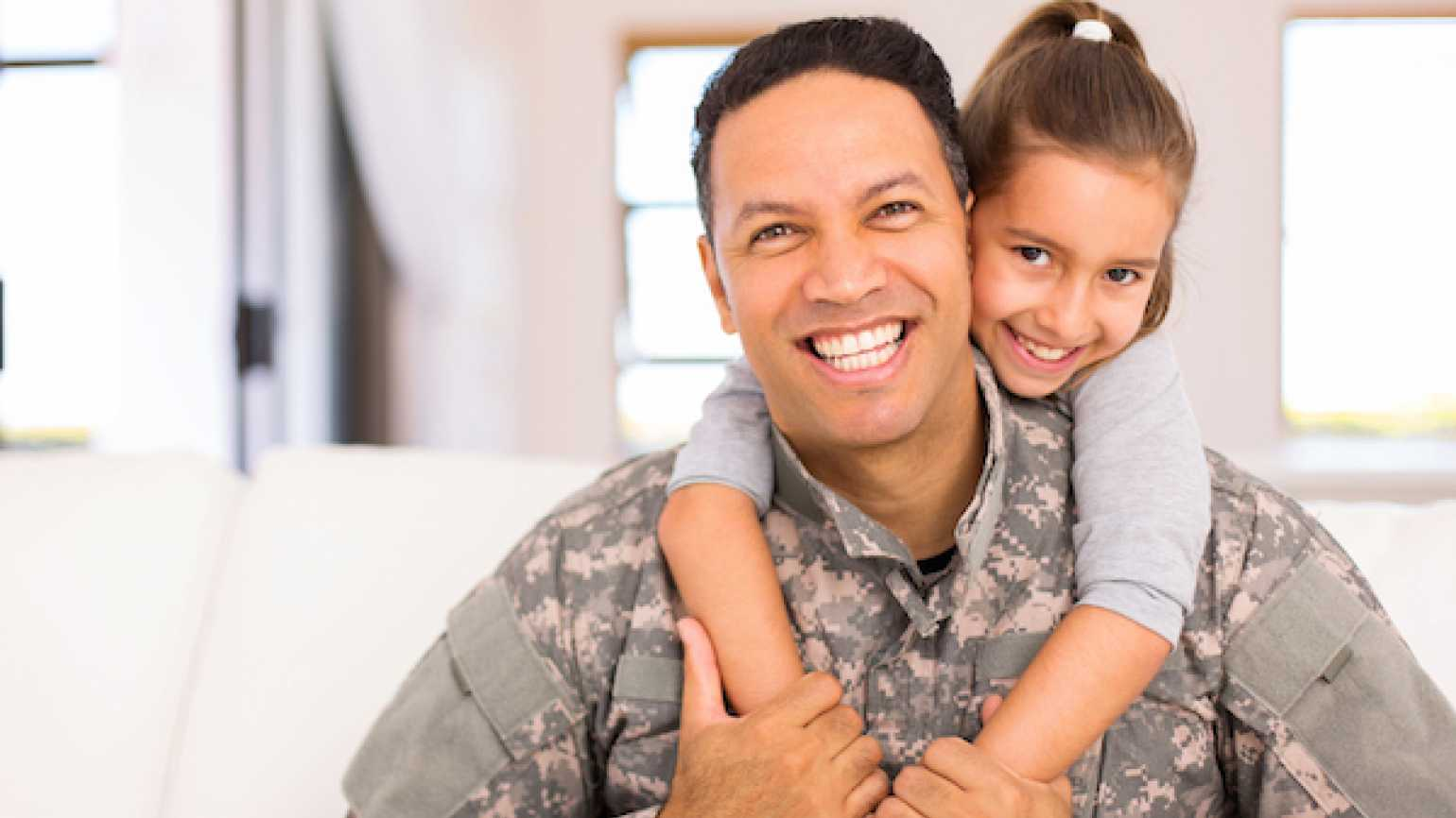 Honor military parents on Parents' Day.