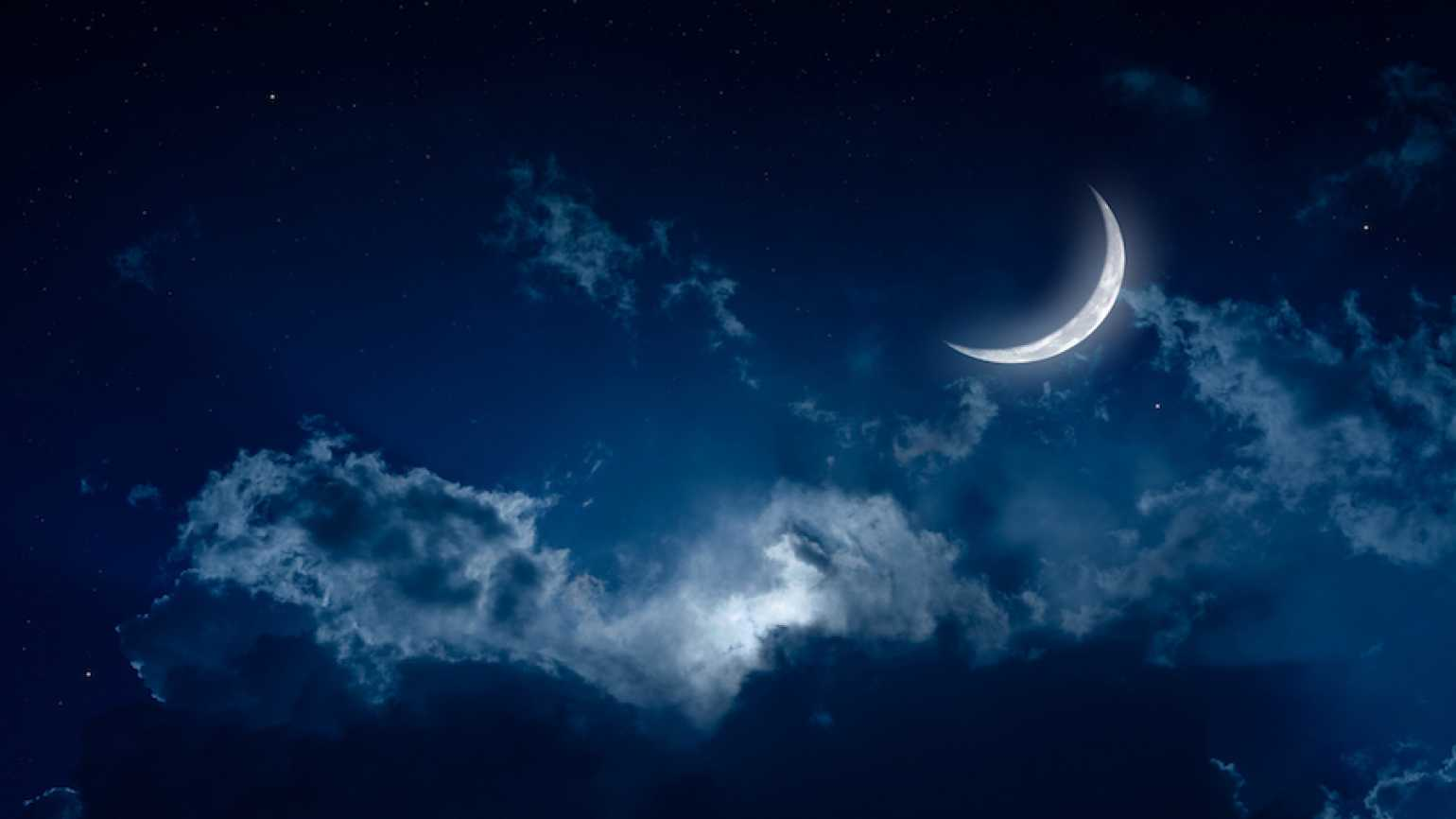 Moon at night. Photo: Thinkstock.
