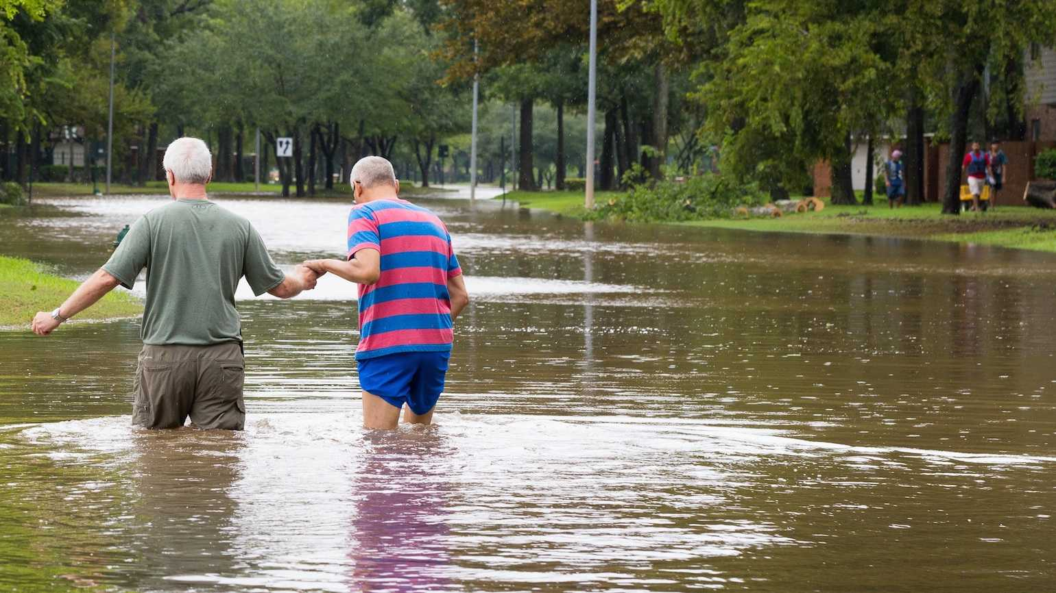 Helping someone after Hurricane Harvey