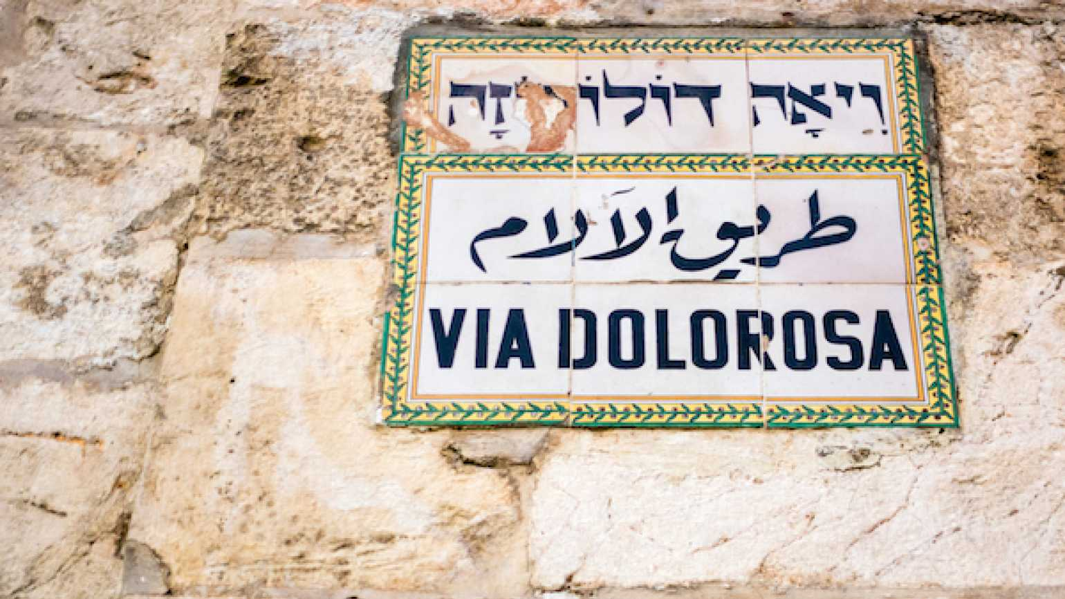 How a former altar boy rediscovered the Stations of the Cross in Jerusalem.