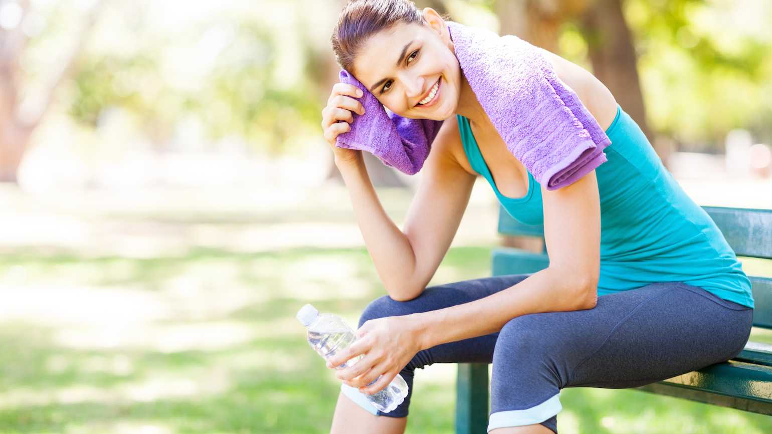 How Sweating Is Good for Body and Soul Summer means sweat. better living health wellness