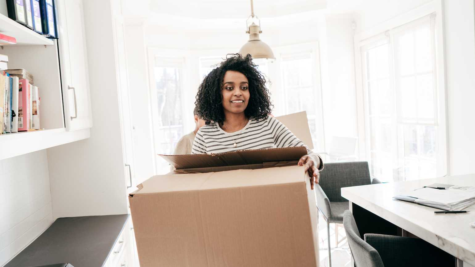 Decluttering the house
