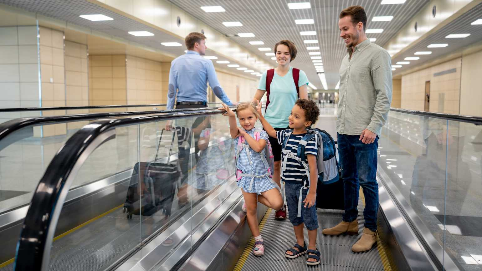 Family travel over the holidays