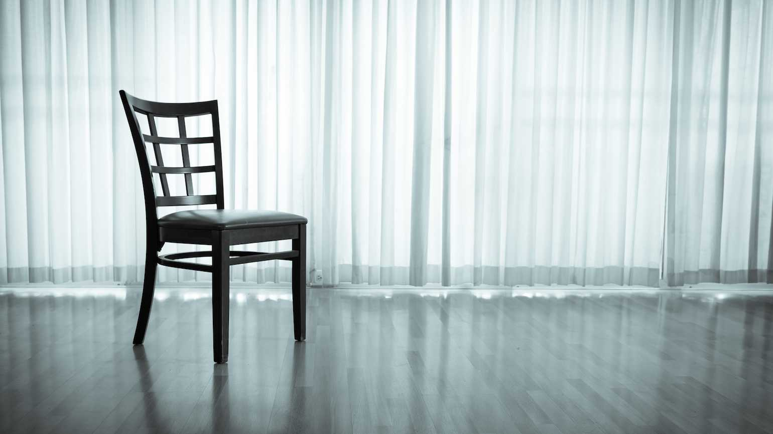 How an empty chair can help you pray