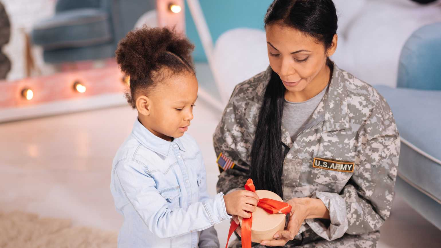Military and Valentine's Day