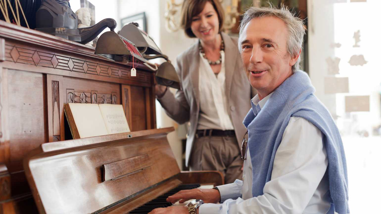 Music helps fight aging