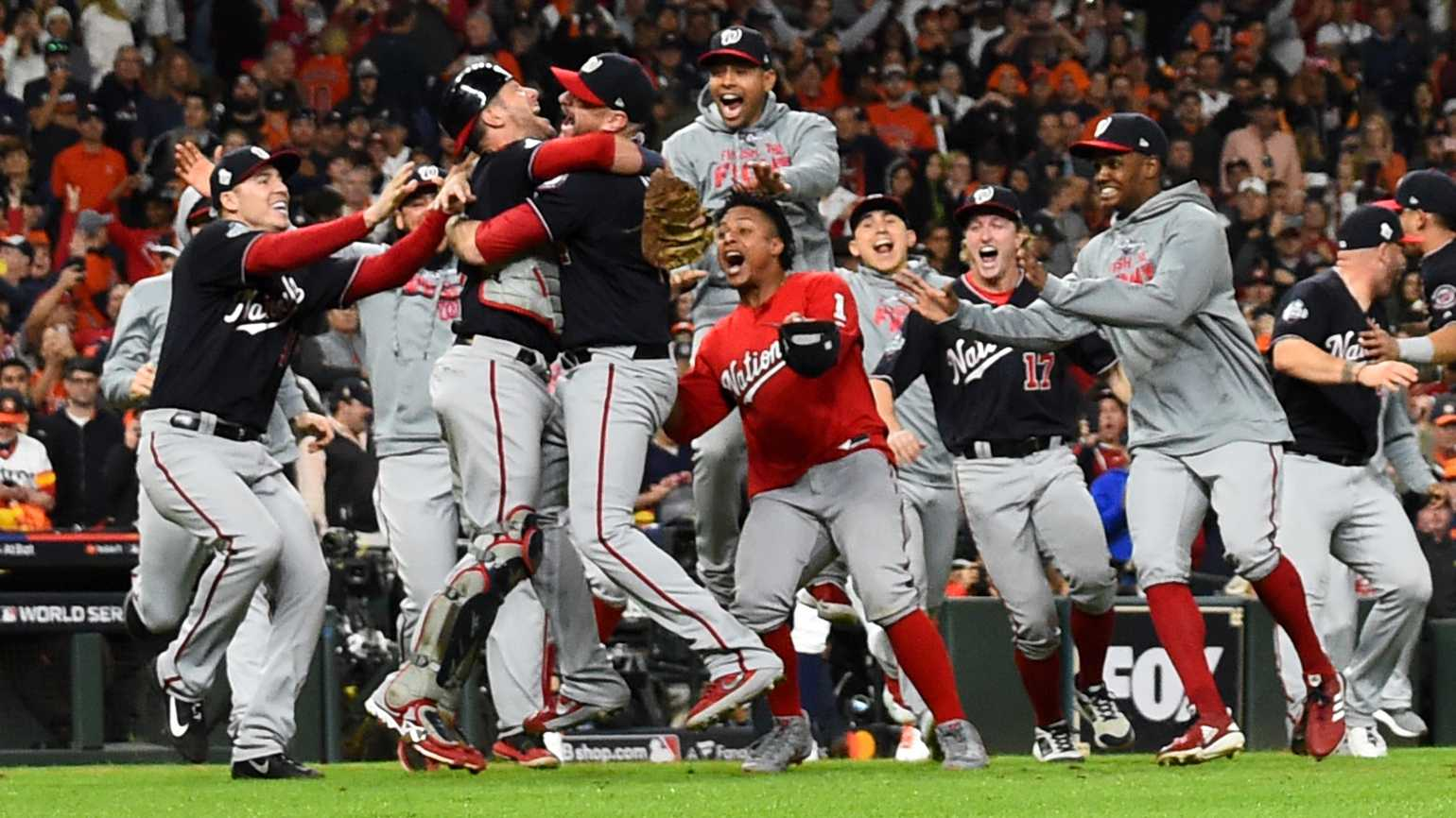 Nationals win the World Series
