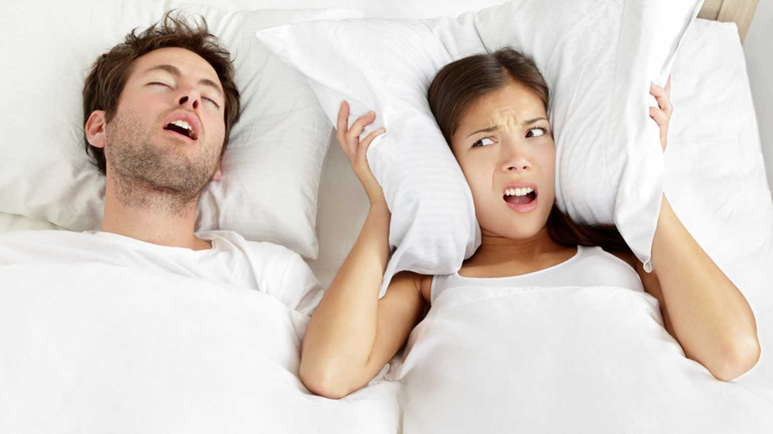 Can the sound of snoring turn into music to one's ears? A wife is grateful for her husband's snoring after 64 years of marriage.