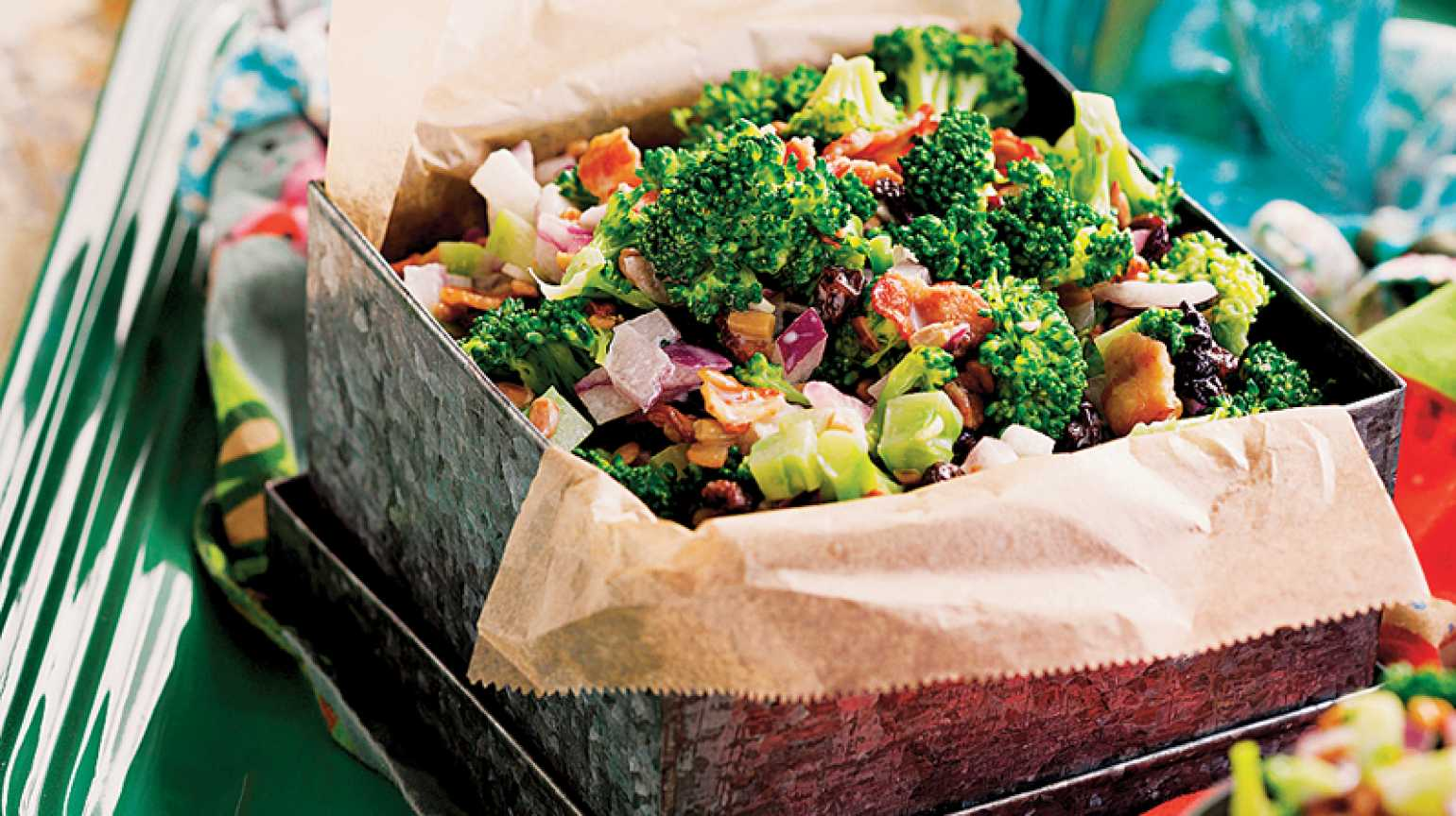 Refrigerator Broccoli Salad