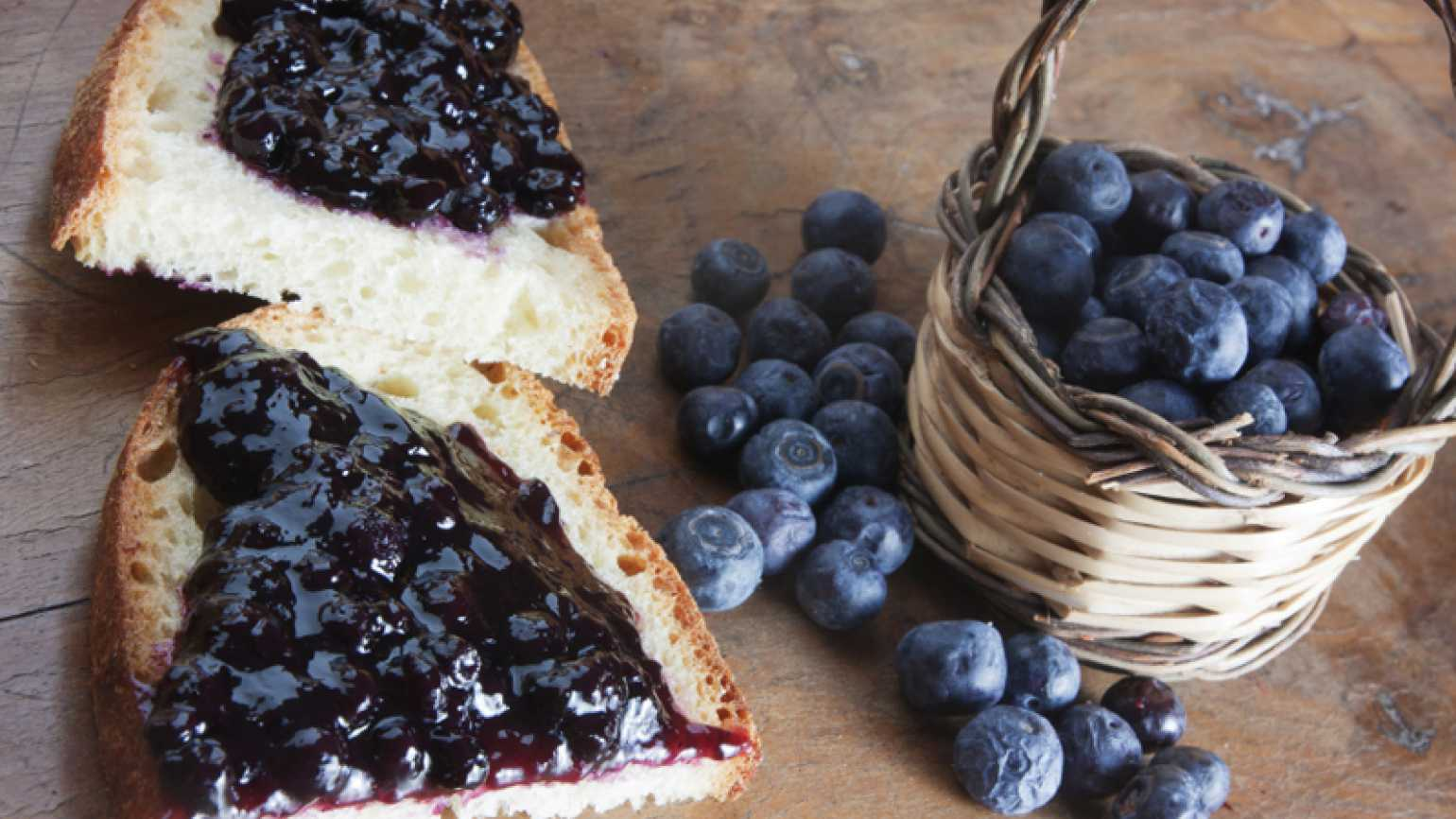 Wild Blueberry Lemon Jam