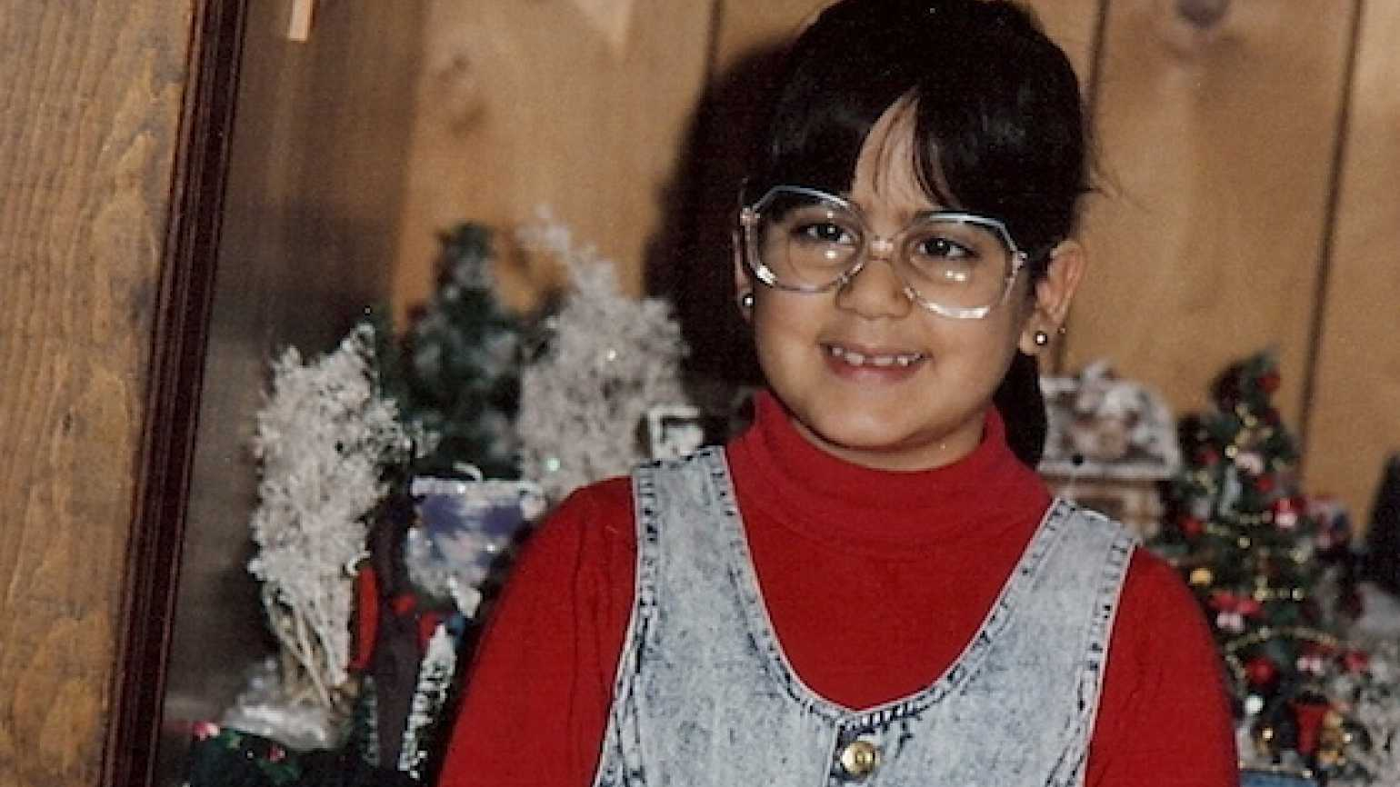 Mysterious Ways blogger Diana Aydin as a second grader.