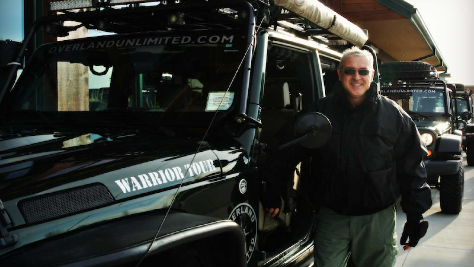 Justin Kingsland, founder of Warrior Tours. Photo by Edie Melson.