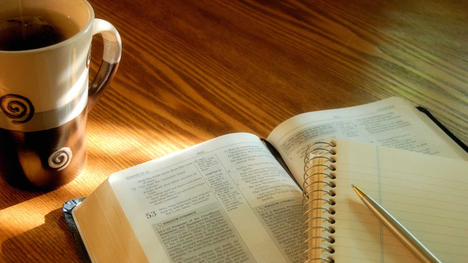 A Bible and journal. Photo by Geri-Jean Blanchard, Thinkstock.