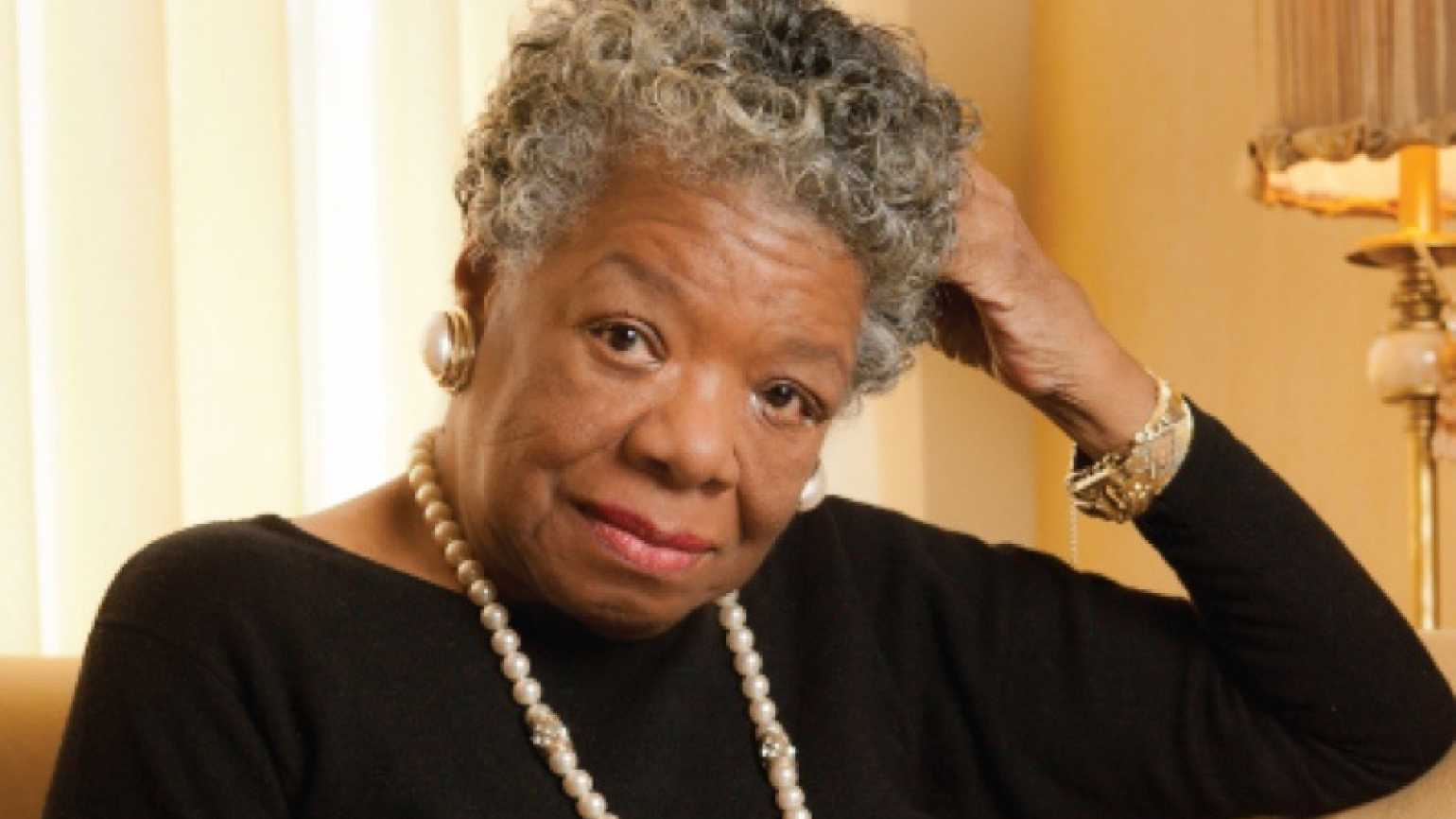 Dr. Maya Angelou. Photo credit: Wake Forest University