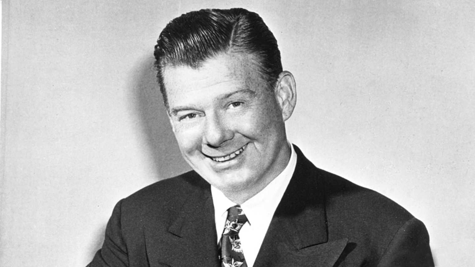 Entertainer Arthur Godfrey