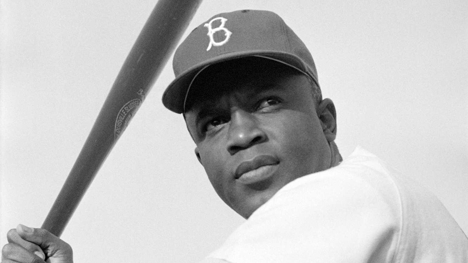 Baseball Hall of Famer Jackie Robinson
