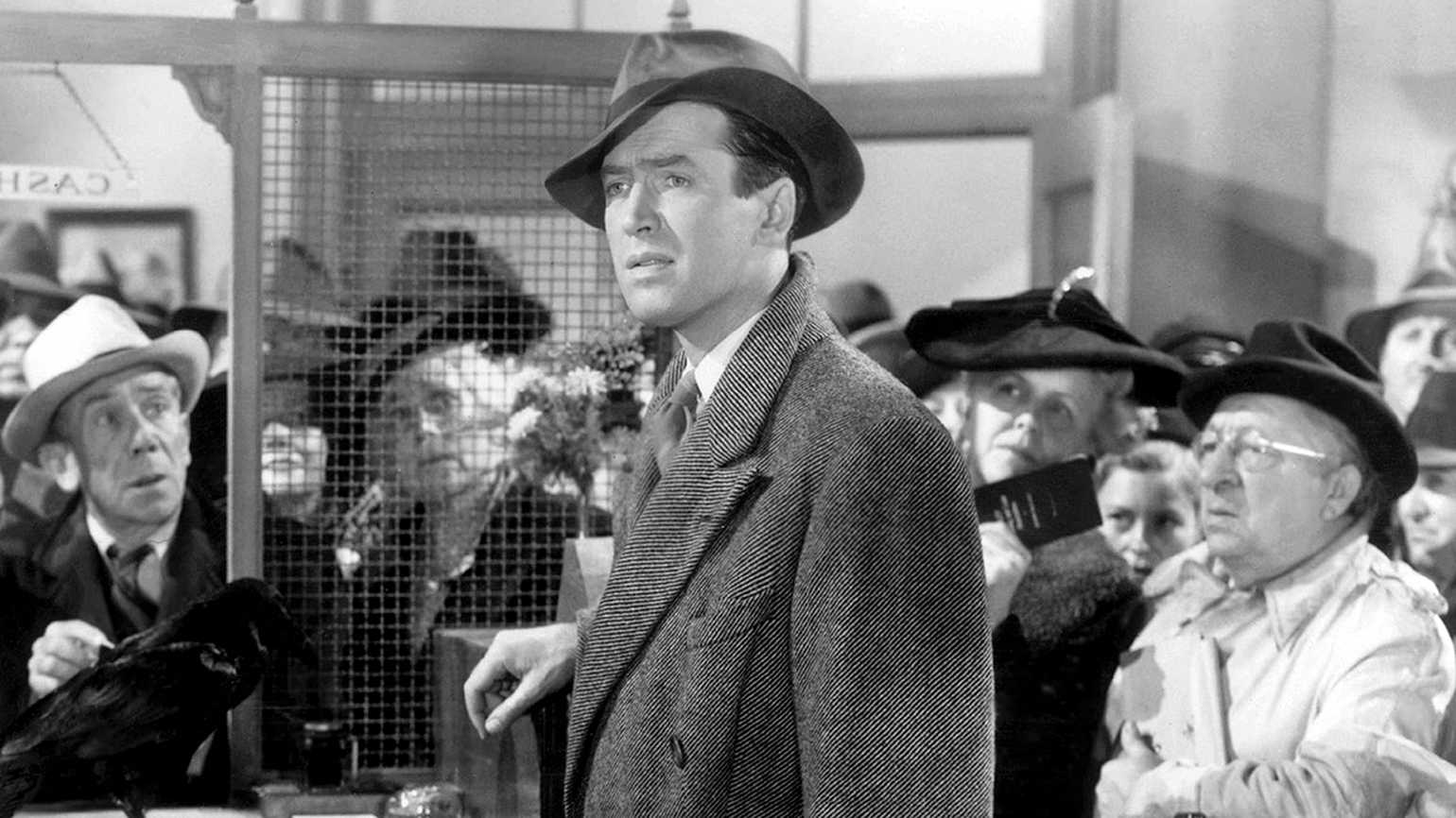 James Stewart in a scene from It's a Wonderful Life