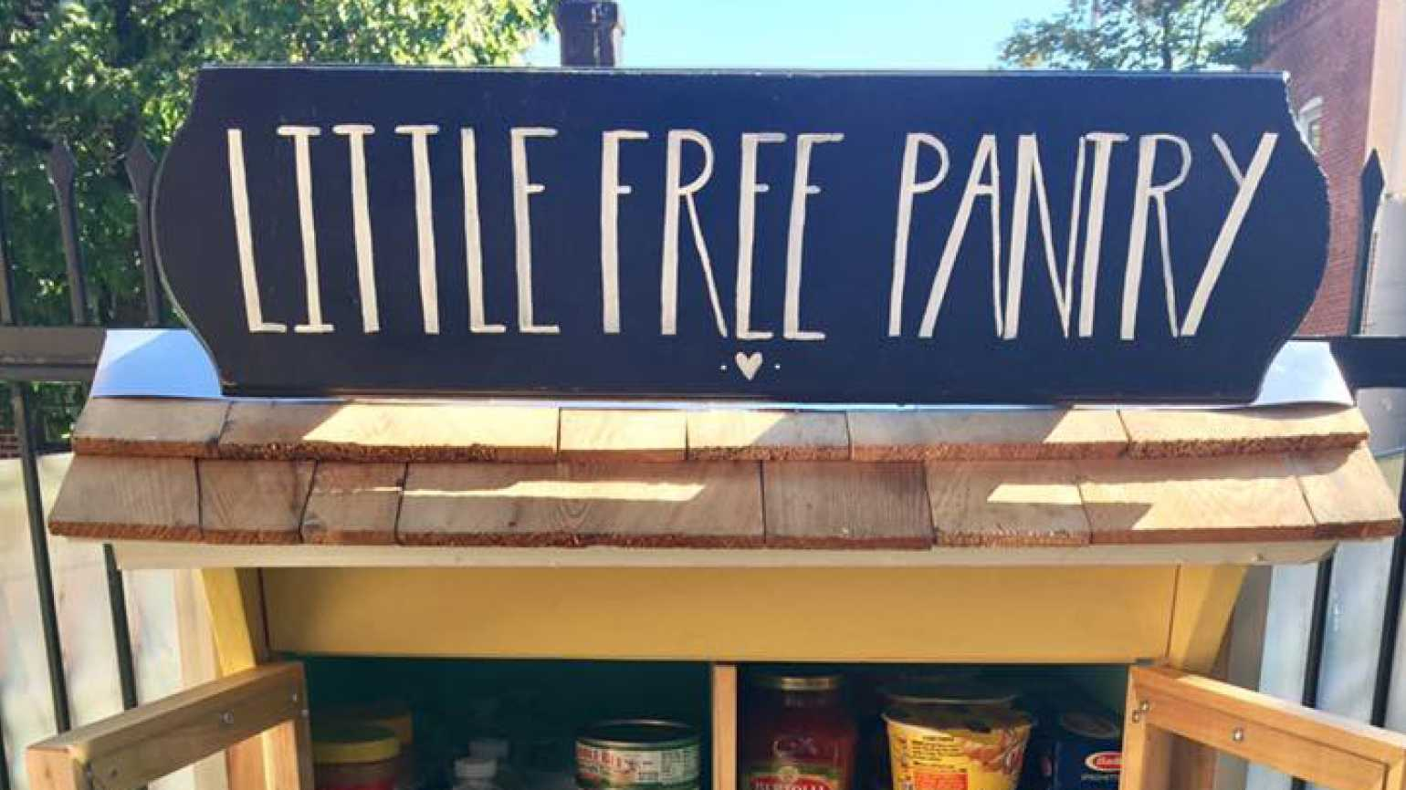 Jessica McClard Creates Little Free Pantry to Give Back and Unite the Community