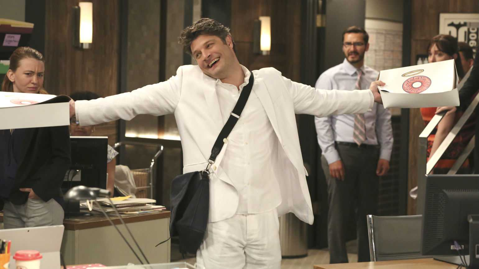 Jay Ferguson stars in CBS Living Biblically