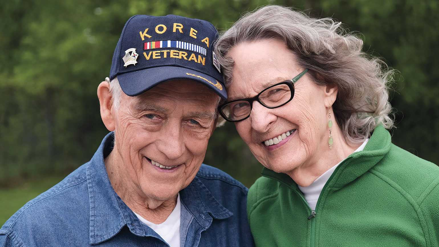 Jerry and Hope found new romance in their eighties