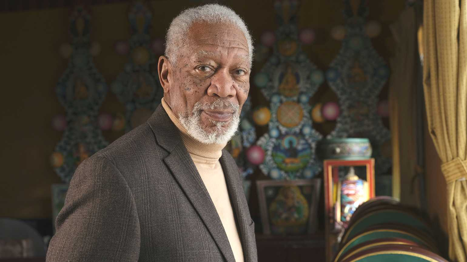 Morgan Freeman Explores Visions of Faith in 'The Story of God'