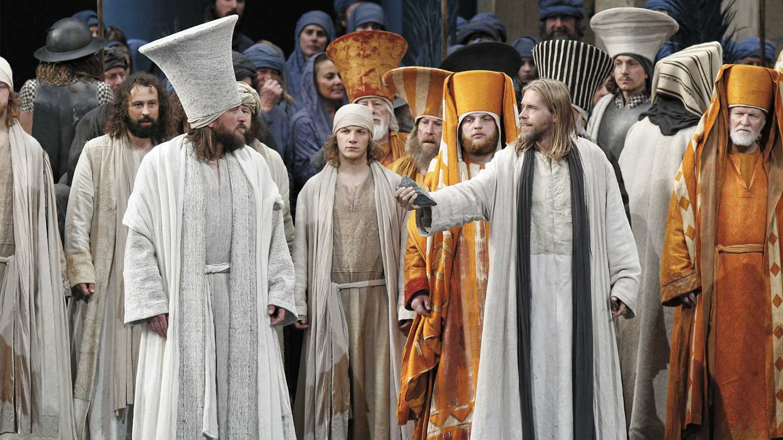 Citizens of Oberammergau performing the centuries-old play in 2010