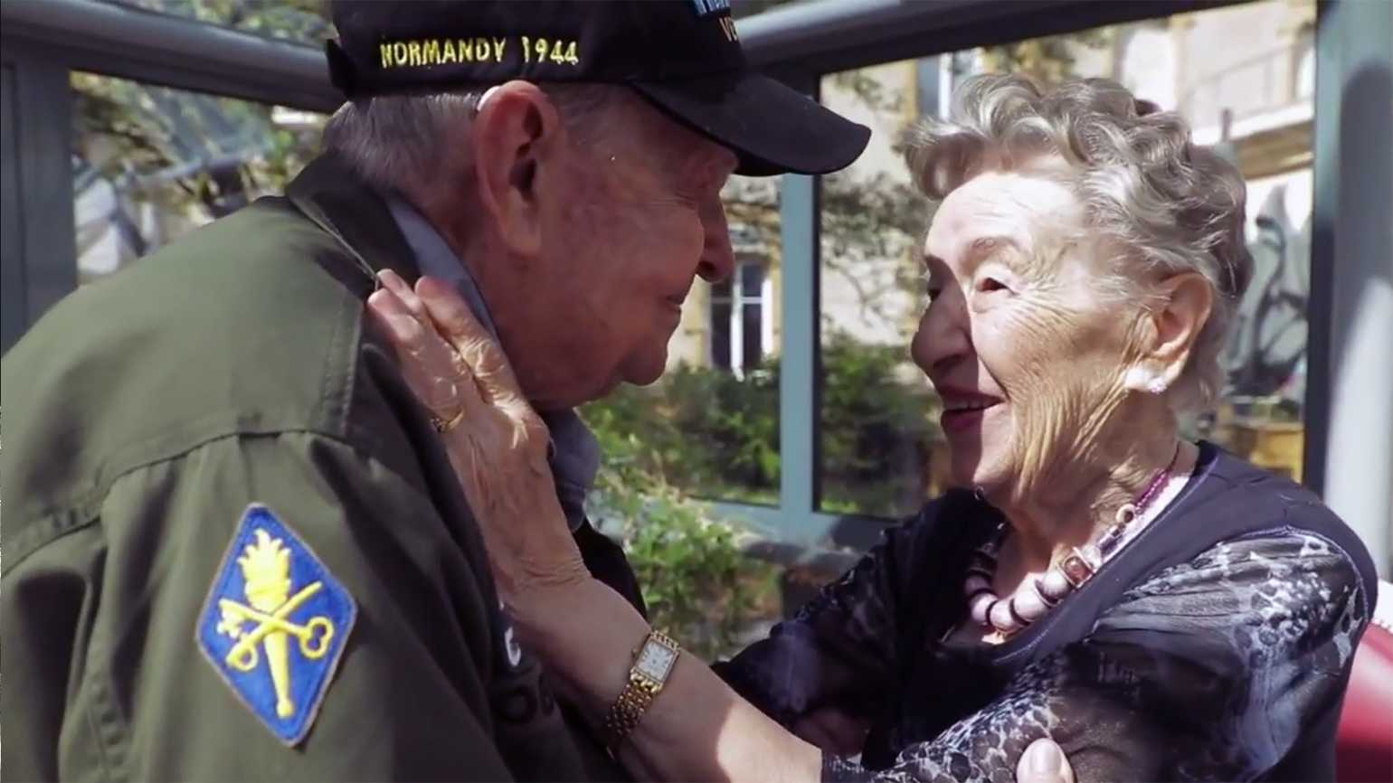 K. T. and Jeannine are reunited after 75 years