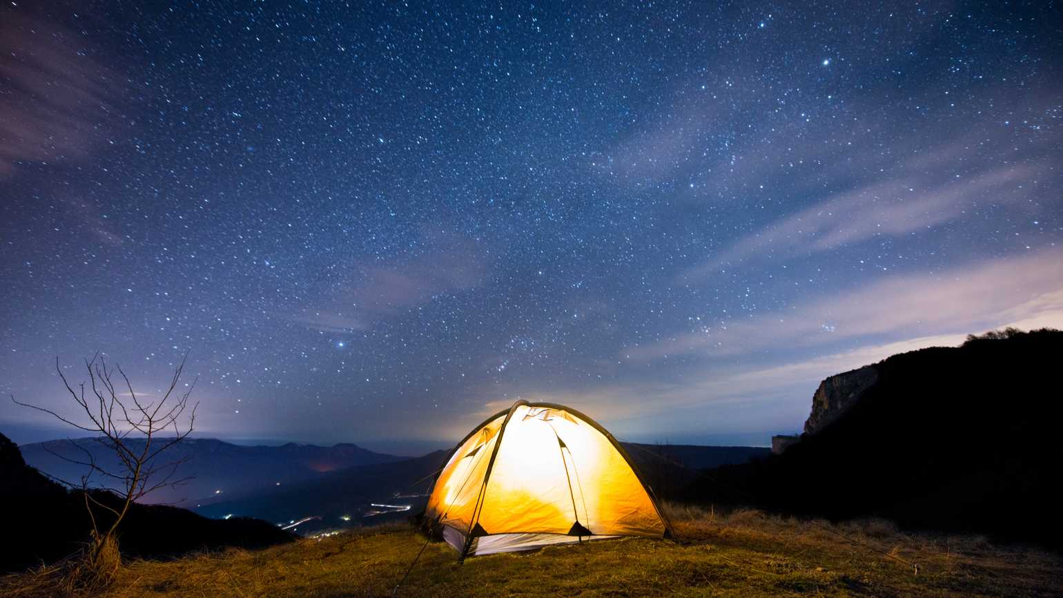 Camping with God
