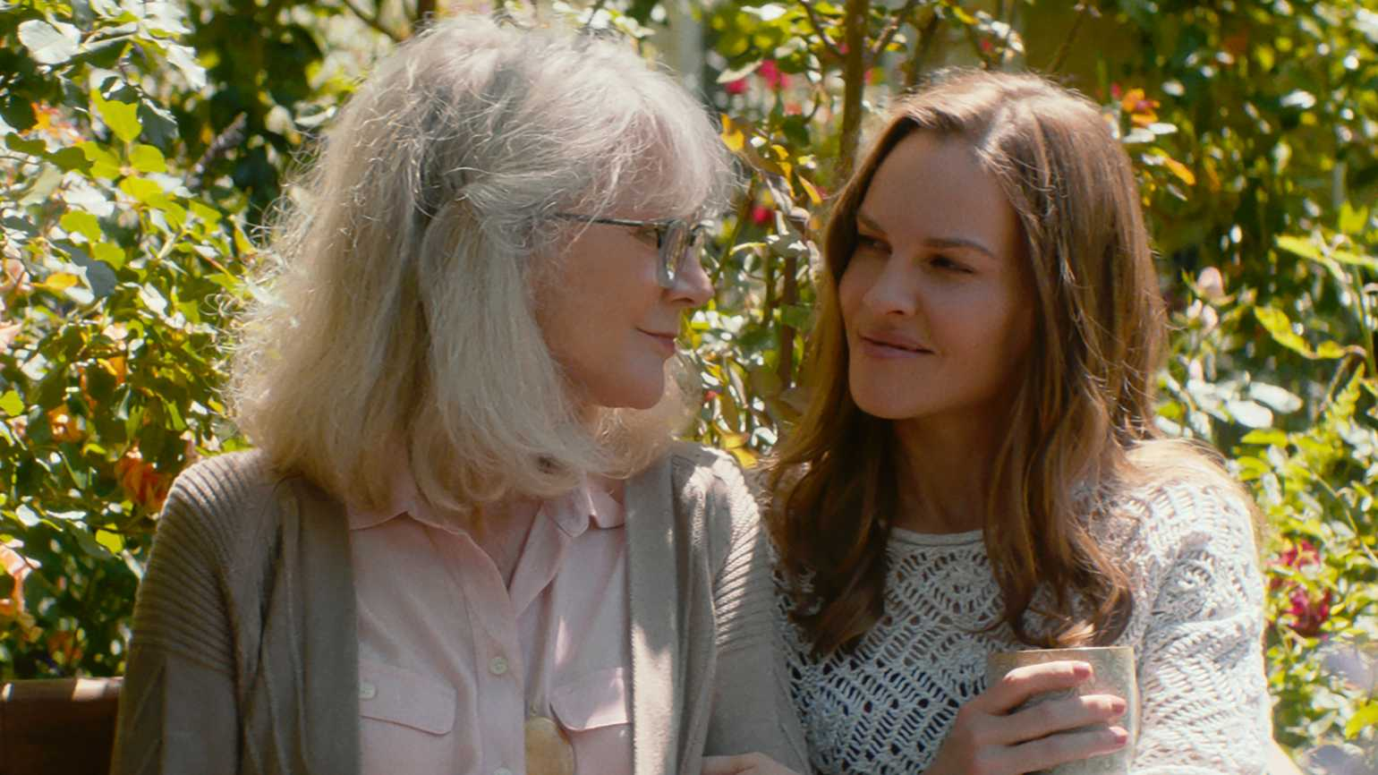 "Blythe Danner and Hilary Swank in ""What They Had"""