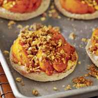 Breakfast recipes: Peachy English Muffins