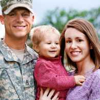 Is there a military family in your community?