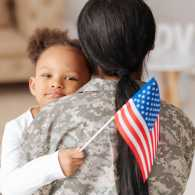 How worried military families can find inner peace.