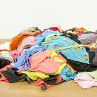 A pile of clothes on the floor. Photo: 123RF(r)