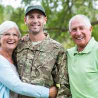 Letting go of expectations in a military family.