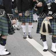 A St. Patrick's Day parade. Thinkstock.