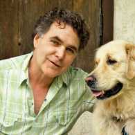 Edward Grinnan and his beloved golden retriever, Millie.
