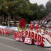 Official Rose Parade float at the 128th Tournament Of Roses Jan. 2, 2017.