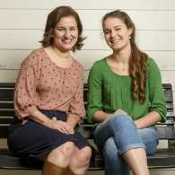 Laura Boggs and her daughter Maggie