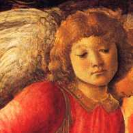Sandro Botticelli pictures of angels with wings