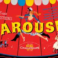 A poster from the 1955 motion picture, Carousel