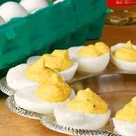 Kenna Haynie's yellow squash deviled eggs
