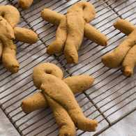 Rae Katherine Eighmey's Gingerbread Men, just the way Abe Lincoln liked them