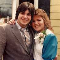 Blogger Dan Kessel's parents in 1982.