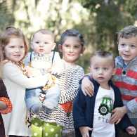 Michelle's passel of grandchildren!