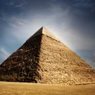 The miraculous Great Pyramid at Giza. Photo by Mikael Damkier, Shutterstock.