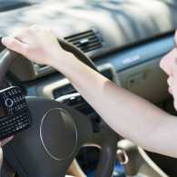 Texting and driving, deadly for teens. Photo from 123RF(r).